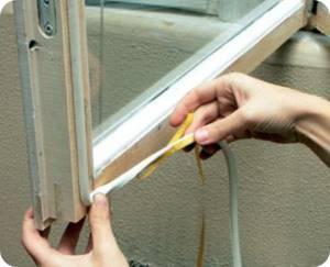 утеплить деревянные окна