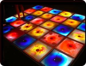 Интерактивная плитка