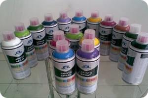аэрозольные краски для стен
