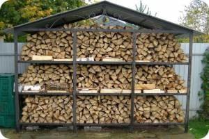 правила хранения дров