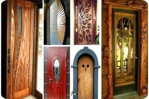 дизайн деревянных дверей