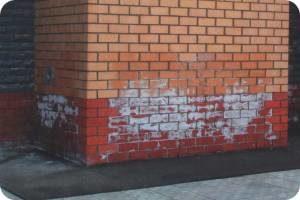 Появление полос на стенах