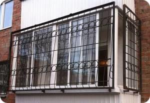 стальные решетки для балкона